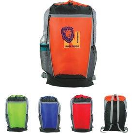 Tri-Color Drawstring Backpack