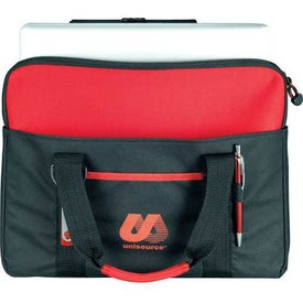 Tuck Compu-Brief with Laptop Sleeve Branded with Your Logo