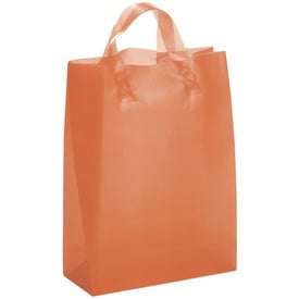 Personalized Tulip Frosted Brite Shopper Bag