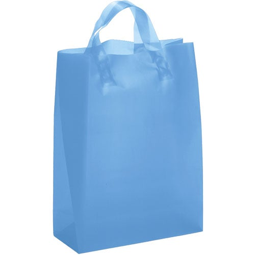 Blue Tulip Frosted Brite Shopper Bag