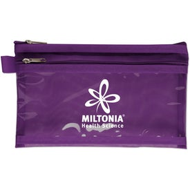 Twin Pocket Supply Pouch for Advertising