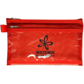 Branded Twin Pocket Supply Pouch