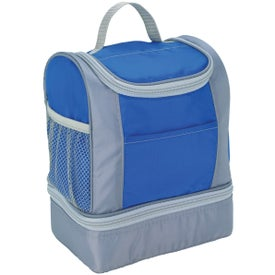 Two-Tone Insulated Lunch Bag for your School