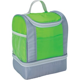 Personalized Two-Tone Insulated Lunch Bag