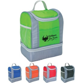 Two-Tone Insulated Lunch Bag with Your Logo