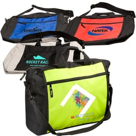 Two-Tone Messenger Bag Giveaways