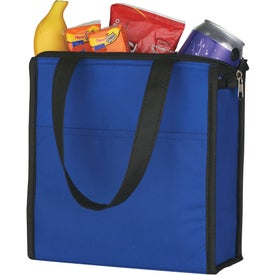 Personalized Two-Tone Non-Woven Lunch Bag