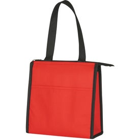 Two-Tone Non-Woven Lunch Bag for Your Organization