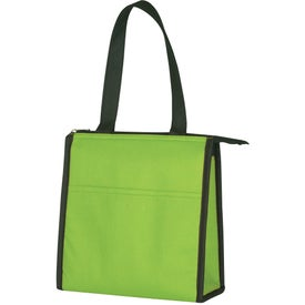 Promotional Two-Tone Non-Woven Lunch Bag