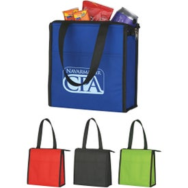 Two-Tone Non-Woven Lunch Bag for Advertising