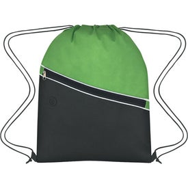 Non-Woven Two-Tone Hit Sports Pack for Advertising
