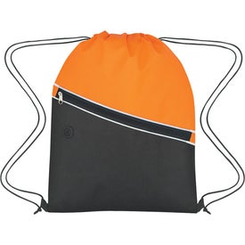 Non-Woven Two-Tone Hit Sports Pack with Your Logo