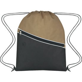 Non-Woven Two-Tone Hit Sports Pack Branded with Your Logo
