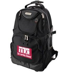 Branded Ultimate Rolling Computer Backpack