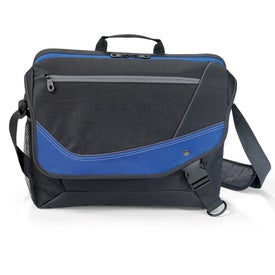 Imprinted Urban Edge Computer Messenger Bag