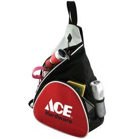 Monogrammed Urban Messenger Sling Bag