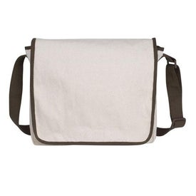 V Natural Recycled Cotton Messenger
