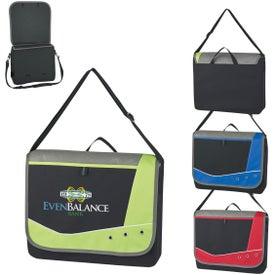 Valley Grommet Messenger Bag (Embroidered)