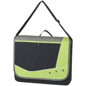 Logo Valley Grommet Messenger Bag