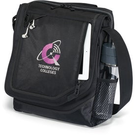 Vapor Vertical Computer Messenger Bag Branded with Your Logo