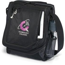 Vapor Vertical Computer Messenger Bag Branded with Your Logo