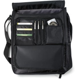 Vapor Vertical Computer Messenger Bag for Customization