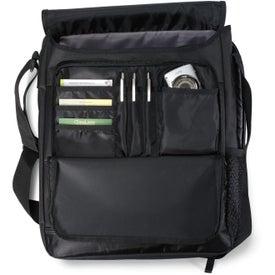 Vapor Vertical Computer Messenger Bag for Customization