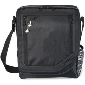 Custom Vapor Vertical Computer Messenger Bag