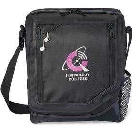 Vapor Vertical Computer Messenger Bag with Your Slogan