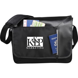 Vault RFID Security Compu-Messenger Bag
