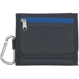 "Velcro Wallet With 2"" Carabiner for Marketing"