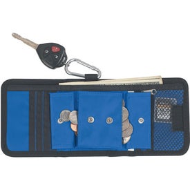 """Company Velcro Wallet With 2"""" Carabiner"""