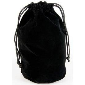 Company Personalized Velvet Gift Bag