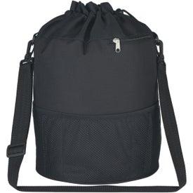Logo Vented Beach Bag