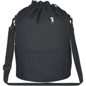 Logo Vented PVC Beach Bag