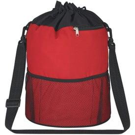 Monogrammed Vented PVC Beach Bag