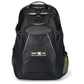 Branded Vertex Computer Backpack II