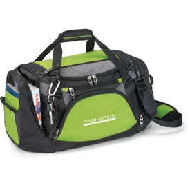 Monogrammed Vertex Tech Duffel Bag