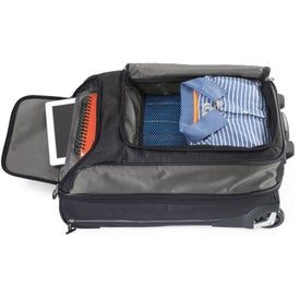 Vertex Tech Carry-On Wheeled Upright Duffel for Your Organization