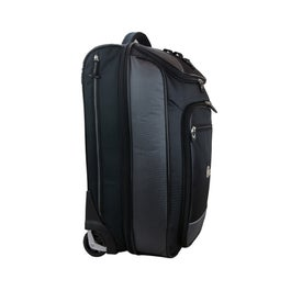 Logo Vertex Tech Carry-On Wheeled Upright Duffel