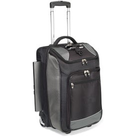 Personalized Vertex Tech Carry-On Wheeled Upright Duffel