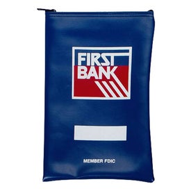 Printed Vertical Bank Bag EV 7 x 10