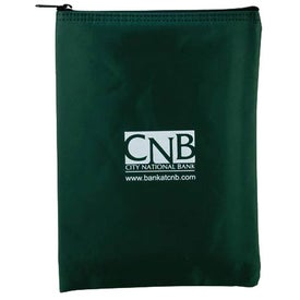 Vertical Bank Bag EV 7 x 10 Printed with Your Logo