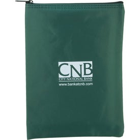 Vertical Bank Bag Branded with Your Logo