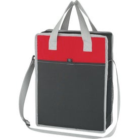 Promotional Vertical Messenger/Tote Bag