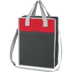 Promotional Vertical Messenger/Tote Bag