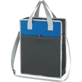 Branded Vertical Messenger/Tote Bag