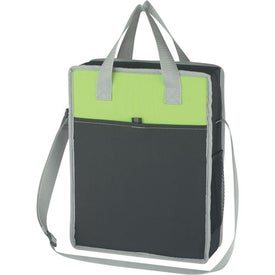 Logo Vertical Messenger/Tote Bag