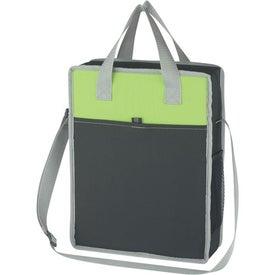 Logo Vertical Messenger/Tote Bag
