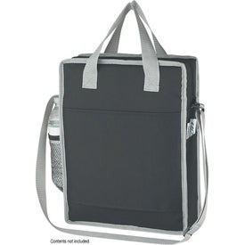 Vertical Messenger/Tote Bag with Your Slogan